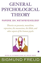 General psychological theory : papers on metapsychology