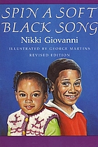 Spin a soft Black song : poems for childrenSpin a soft black song