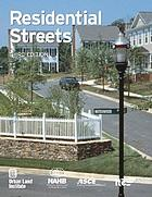 Residential streets : objectives, principles, & design considerations