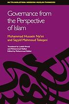 Governance from the perspective of Islam