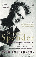 Stephen Spender : the authorized biography