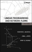 Linear Programming and Network Flows, 3rd Edition