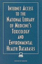 Internet access to the National Library of Medicine's toxicology and environmental health databases