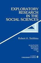 Exploratory research in the social sciences