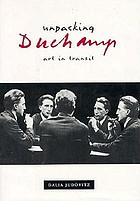 Unpacking Duchamp art in transit