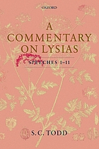 A commentary on Lysias, speeches 1-11