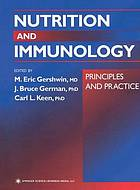 Nutrition and immunology : principles and practice