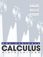 Calculus : one variable