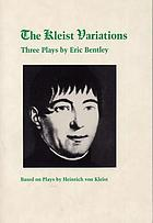 The Kleist variations : three plays
