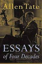 Essays of four decades