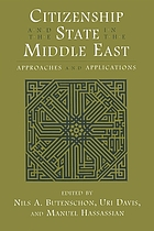 Citizenship and the state in the Middle East : approaches and applications