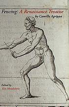 Fencing : a Renaissance treatise