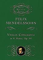 Concerto, E minor, for violin and orchestra. Op. 64