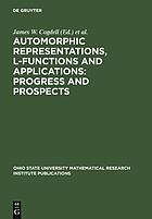 Automorphic representations, L-functions and applications : progress and prospects : proceedings of a conference honoring Steve Rallis on the occasion of his 60th birthday, the Ohio State University, March 27-30, 2003