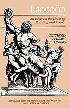 Laocoön : an essay on the limits of painting and poetry
