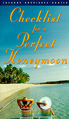 Checklist for a perfect honeymoon