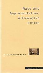 Race and representation : affirmative action