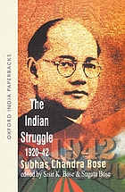 The Indian struggle, 1920-1942