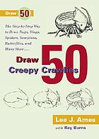 Draw 50 creepy crawlies