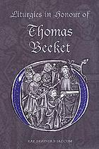 Liturgies in honour of Thomas Becket