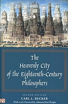 The heavenly city of the eighteenth century philosophers