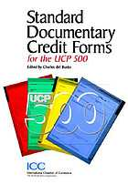 The new standard documentary credit forms for the UCP 500