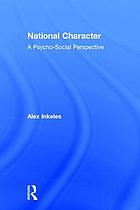 National character : a psycho-social perspective