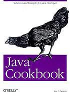 Java cookbookJava en action