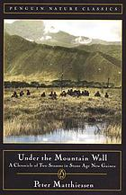Under the mountain wall : a chronicle of two seasons in the stone age