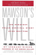 Mawson's will : the greatest polar survival story ever written
