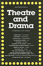 An introduction to theatre & drama