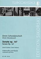 Sonate für Viola und Klavier, op. 147