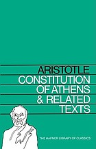 Constitution of Athens and related texts