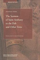 The sermon of Saint Anthony to the fish and other texts