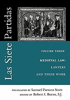 Medieval law : lawyers and their work