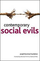 Contemporary social evils