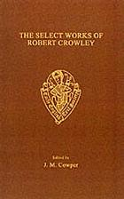 The select works of Robert Crowley