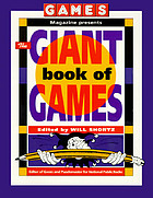 Games magazine presents the giant book of games