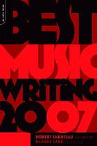Best music writing 2007
