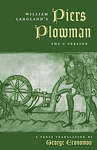 William Langland's Piers Plowman : the C version : a verse translation