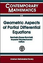 Geometric aspects of partial differential equations : proceedings of a Minisymposium on Spectral Invariants, Heat Equation Approach, September 18-19, 1998, Roskilde, Denmark