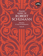 Piano musicPiano music of Robert Schumann