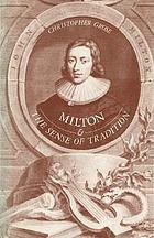 Milton and the sense of tradition