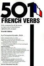 501 French verbs fully conjugated in all the tenses in a new easy-to-learn format