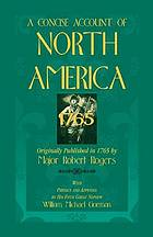 A concise account of North America, 1765