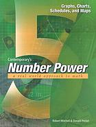 Number power 5, the real world of adult math : graphs, tables, schedules, and maps