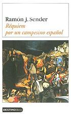 Requiem por un campesino español. Requiem for a Spanish peasant, novel
