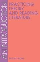 Practicing theory and reading literature : an introduction