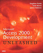 Microsoft Access 2000 unleashed