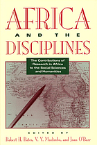 Africa and the disciplines : the contributions of research in Africa to the social sciences and humanities